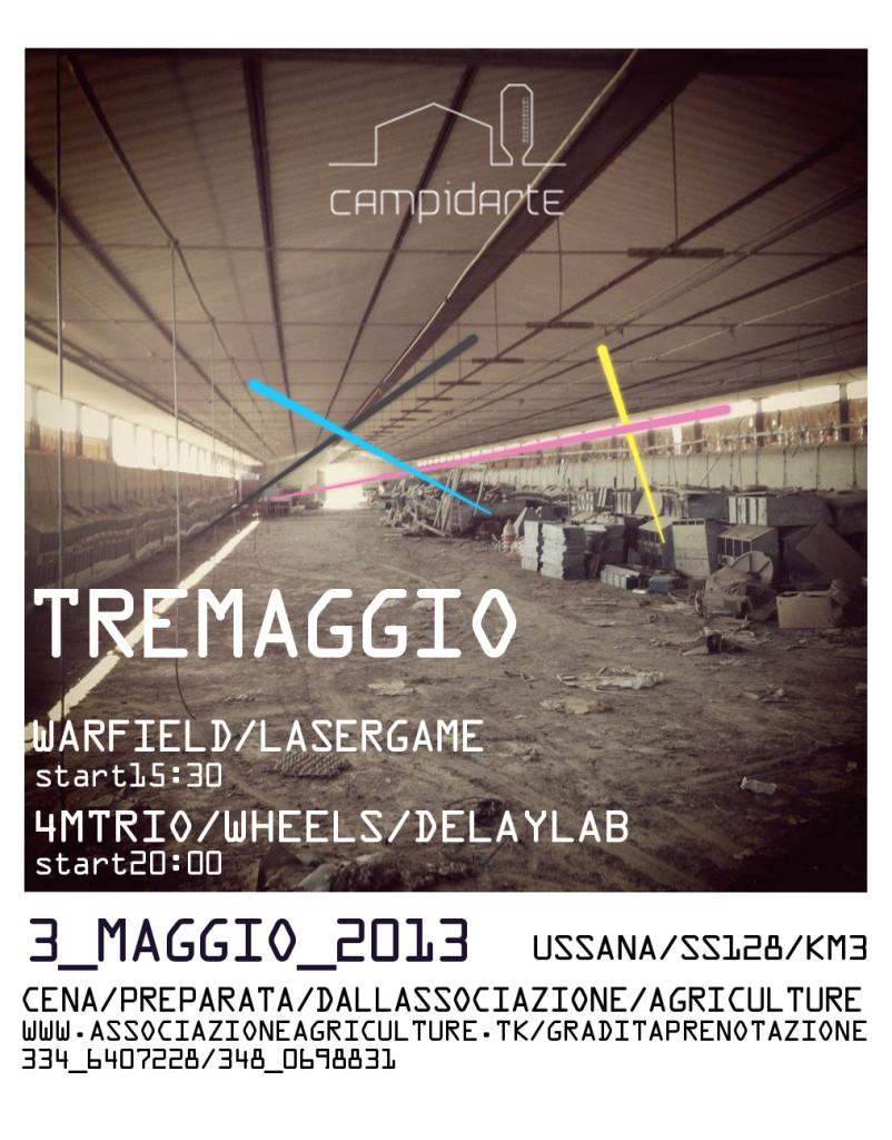 flyer tremaggio 2013
