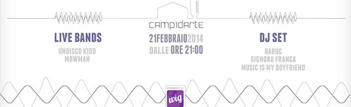 LIVE @ CAMPIDARTE / 21.02.14
